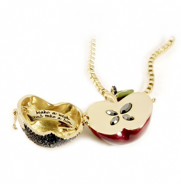 Disney Couture™ Snow White Large Apple Locket